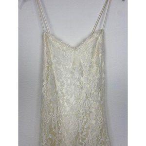 GUNNE SAX Vintage 1980s Lace Dress Sz 11
